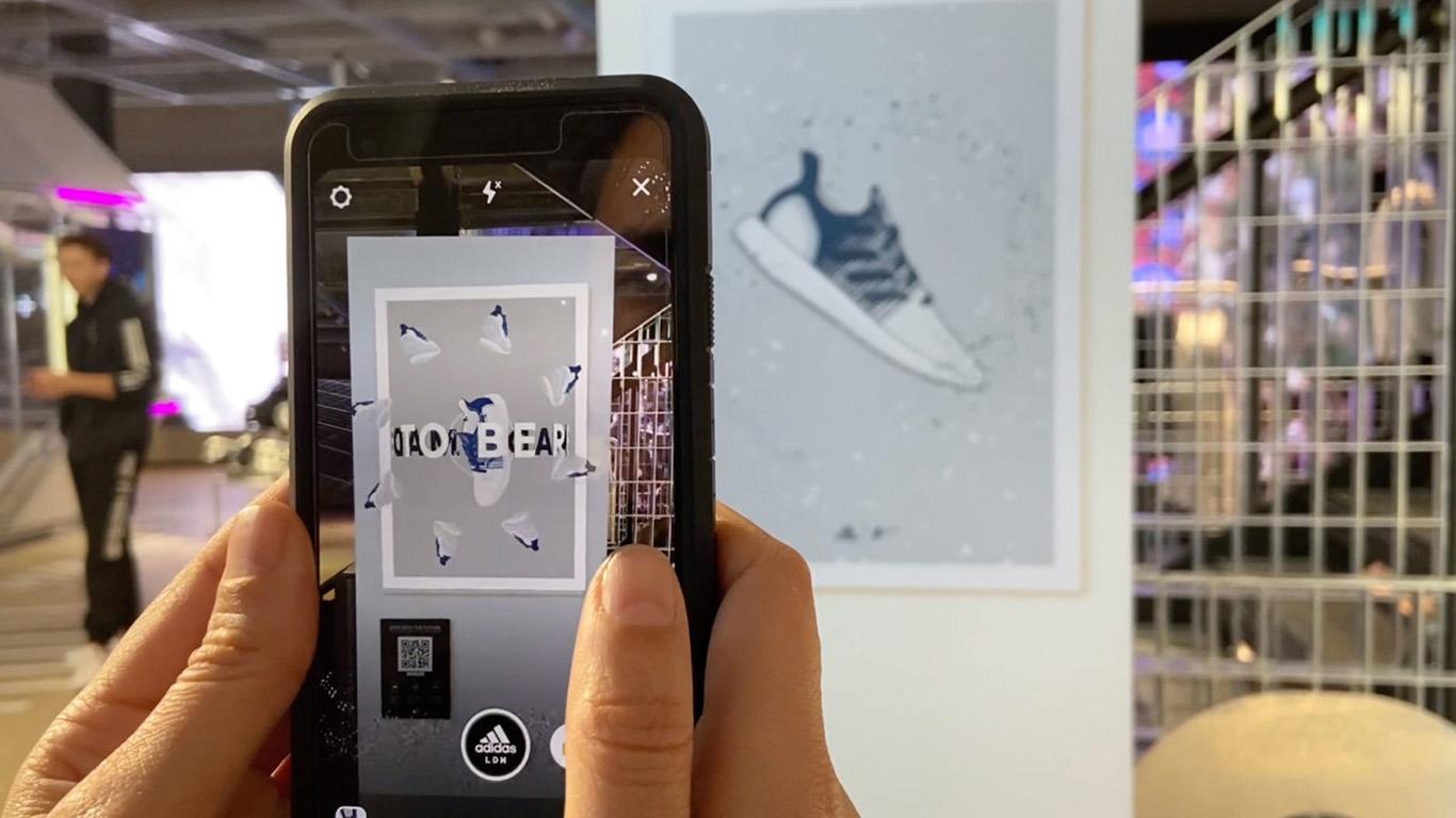 Facebook Adidas, Augmented Reality, David Beckam, Ninja, Spark AR Filter
